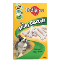 Pedigree Milky Biscuits 350g big image