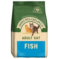 James Wellbeloved Adult Cat Dry Food (Fish) big image
