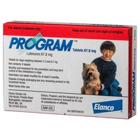 Program Plus 46mg Tablets for Tiny Dogs (Red) big image
