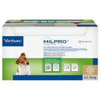 Milpro 2.5mg/25mg Worming Tablets for Small Dogs and Puppies big image