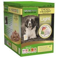 Natures Menu Light Adult Dog Food 8 x 300g Pouches (Chicken with Rabbit) big image