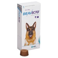 Bravecto 1000mg Chewable Tablets for Large Dogs big image