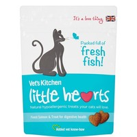 Vet's Kitchen Little Hearts Cat Treats 60g (Salmon) big image