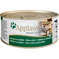 Applaws Adult Cat Food in Broth Tins (Tuna Fillet & Seaweed) big image