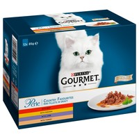 Purina Gourmet Perle Adult Cat Food Pouches (Country Favourites) big image