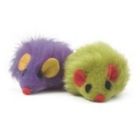 Ancol Furry Mice Cat Toy big image