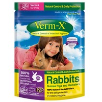 Verm-X Pellets for Rabbits, Guinea Pigs and Hamsters big image