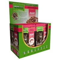Natures Menu Adult Cat Food 12 x 100g Pouches (Beef with Chicken) big image