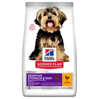 Hills Science Plan Adult 1+ Sensitive Stomach & Skin Small & Mini Dry Dog Food (Chicken) big image