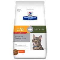 Hills Prescription Diet CD Urinary Stress Plus Metabolic Dry Food for Cats big image