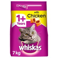 Whiskas 1+ Complete Dry Cat Food (Chicken) big image