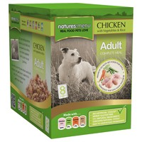 Natures Menu Adult Dog Food 8 x 300g Pouches (Chicken) big image