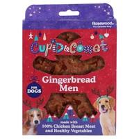 Rosewood Cupid & Comet Gingerbread Men Dog Treats 160g big image