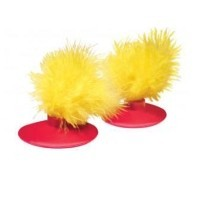 Kong Glide 'n Seek Feather Toy Replacement (2 Pack) big image