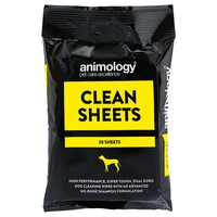 Animology Clean Sheets Dog Wipes (Pack of 20) big image