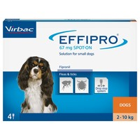 Effipro for Small Dogs (4 Pipettes) big image