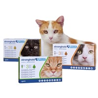 Stronghold Plus 15mg Spot-On Solution for Cats (3 Pipettes) big image