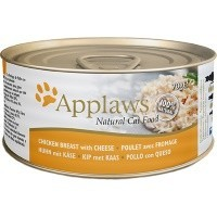 Applaws Adult Cat Food in Broth Tins (Chicken Breast with Cheese) big image