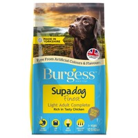 Burgess Supadog Light Adult Dog Food (Chicken) 12.5kg big image
