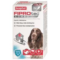 Beaphar FIPROtec Combo Spot-On Solution for Medium Dogs big image