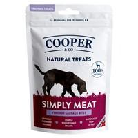 Cooper & Co Venison Sausage Bites Training Treats 100g big image