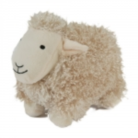 Curly Pet Lamb Soft Dog Toy big image