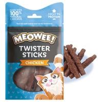 Meowee! Twister Sticks Cat Treats (Chicken) 31g big image