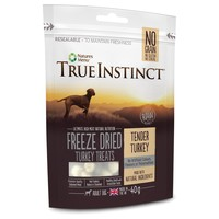 True Instinct Freeze Dried Dog Treats (Tender Turkey) 40g big image