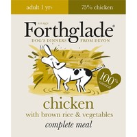 Forthglade Complete with Brown Rice Dog Food (Chicken & Veg) 18 x 395g big image