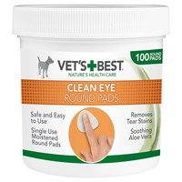 Vet's Best Clean Eye Round Pads (100 Pads) big image