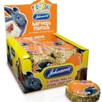 Johnson's Harvest Munch for Rabbits and Guinea Pigs 70g Bar big image