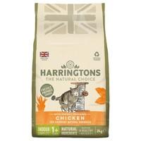 Harringtons Complete Indoor Dry Cat Food (Chicken) 2kg big image