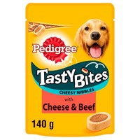 Pedigree Tasty Bites Cheesy Nibbles 140g big image