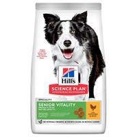 Hills Science Plan Senior Vitality Mature 7+ Medium Breed Dry Dog Food big image