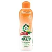 TropiClean Natural Flea & Tick Dog Shampoo (Maximum Strength) 355ml big image