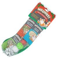 Meowee Treat Christmas Stocking for Cats big image