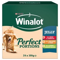 Winalot Perfect Portions Adult Wet Dog Food in Jelly big image