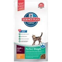 Hills Science Plan Perfect Weight Adult Cat Food (Chicken) big image