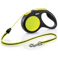 Flexi Neon Retractable 5m Cord Lead big image