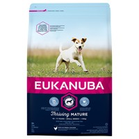 Eukanuba Thriving Mature Small Breed Dog Food (Chicken) 3kg big image