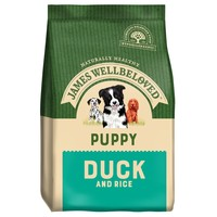 James Wellbeloved Puppy Dry Dog Food (Duck and Rice) 2kg big image