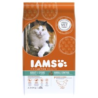 Iams ProActive Health Adult Cat Food for Hairball Control big image