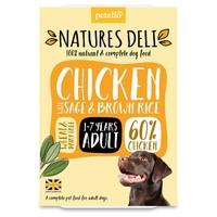 Natures Deli Adult Wet Dog Food Trays (Chicken) big image