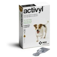 Activyl Spot-On Solution for Small Dogs (4 x 150mg Pipettes) big image