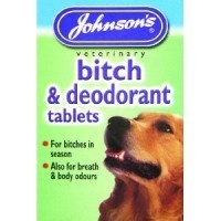 Johnson's Bitch and Deodorant Tablets (40 Tablets) big image