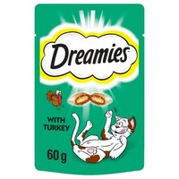 Dreamies Flavoured Cat Treats with Turkey 60g big image