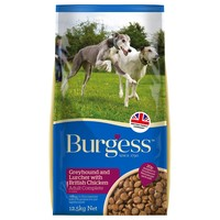Burgess Greyhound and Lurcher Adult Dog Food 12.5kg (Chicken) big image