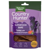 Natures Menu Country Hunter Superfood Bars (Turkey with Cranberries & Pumpkin) big image