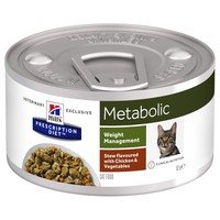 Hills Prescription Diet Metabolic Tins for Cats (Stew with Chicken & Vegetables) big image