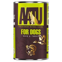 AATU Adult Dog Wet Food Tins (Duck & Turkey) big image